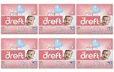 Dreft Baby Original Scent Powder Laundry Detergent,Recommended by Pampers, 40 Loads, 53 oz (Pack of 6)