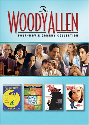 Woody Allen Four Movie Comedy Collection (Anything Else / The Curse Of The Jade Scorpion / Hollywood Ending / Small Time Crooks) - Woody Allen Box Set