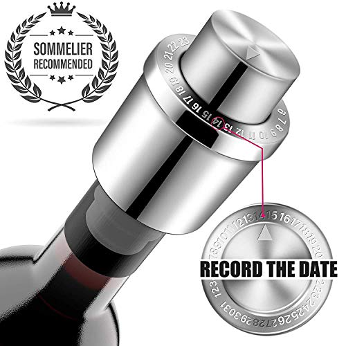 Wine Stoppers GiniHomer Stainless