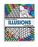 Mindware Modern Patterns: Illusions (Colouring Book)
