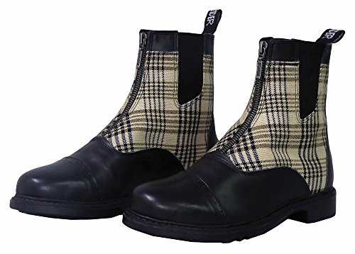 Barn Zip Boot - Baker Ladies Zip Paddock Boots 8.5