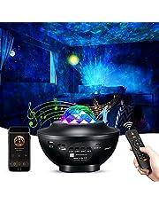 Projetor de luz noturna XUELILI com projetor estrelado ajustável com 21 modos,Galaxy projetor Star projetor Ocean Wave Projetor Light com alto-falante Bluetooth, luz estrelado para quarto de festa