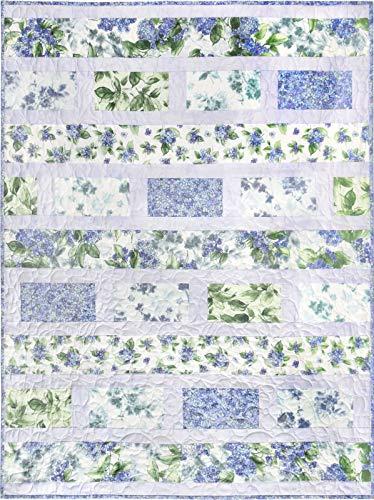 - Kit~Watercolor Hydrangeas Quilt Kit~41
