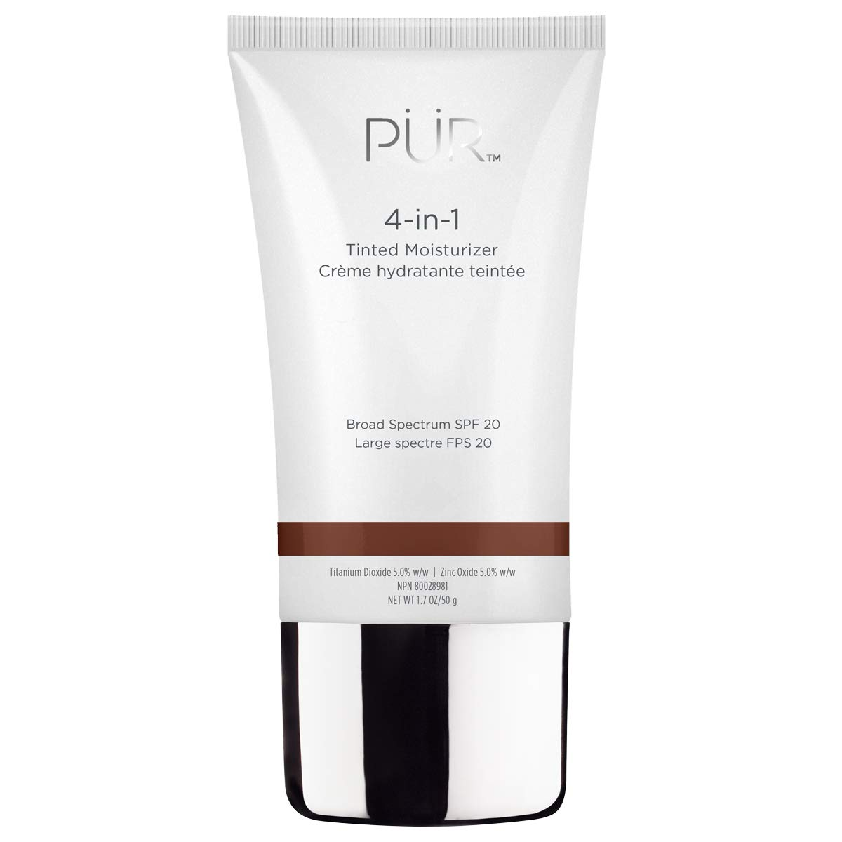 PUR Cosmetics 4-in-1 Tinted Moisturizer in Coffee, 1.7 oz