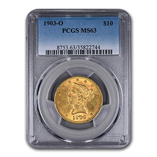 1903 O $10 Liberty Gold Eagle MS-63 PCGS G$10 MS-63 PCGS
