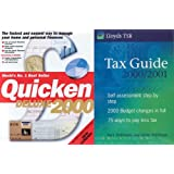 Quicken Deluxe 2000 & FREE Lloyds Tax Guide Book
