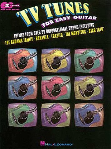 TV Tunes for Easy Guitar (Tv Tunes For Guitar)