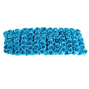 Onpiece Artificial Flowers Bulk, 144 Pcs Rose Bouquet for Wedding Centerpiece Home Decoration 37