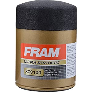 FRAM XG9100 Ultra Synthetic Spin-On Oil Filter with Sure Grip