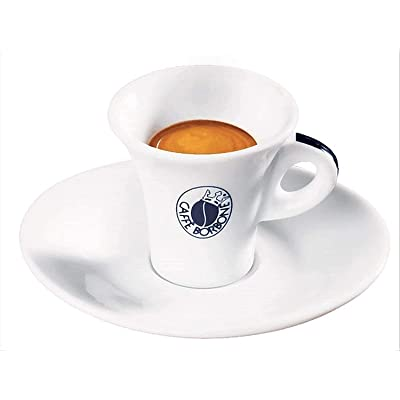 Espressotassen 6er Set Caffè Borbone, Porzellan