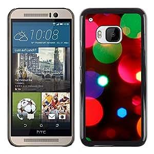 MOBMART Carcasa Funda Case Cover Armor Shell PARA HTC One M9 - Beautiful Crystal Lights