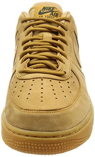 Light Brown NIKE Sneaker Flax Air Thea Max Green Flax gum outdoor B0BqwA