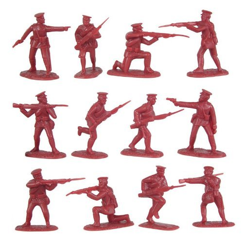 Russian Civil War 1918 rouge Army (20) 1 32 Armies in Plastic by Armies in Plastic