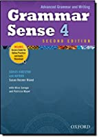 Grammar Sense 4 Student Book with Online Practice Access Code Card (Advanced Grammar and Writing)
