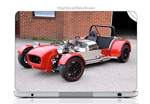 (Laptop VINYL DECAL Sticker Skin Print British Sports Car fits Satellite U300/U305)