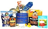 REDNECK SURVIVAL CAN WITH BLUE BANDANA PRESENTED TO YOU BY COOKIE GIFT CAN QUEEN