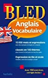 by annie sussel bled vocabulaire anglais french edition hachette education paperback