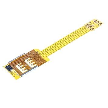 P Prettyia Cellphone SIM Card Converter Adaptador Externo ...