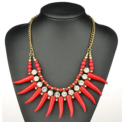 HONEYJOY Bohemia Rhinestone Clavicle Necklace product image