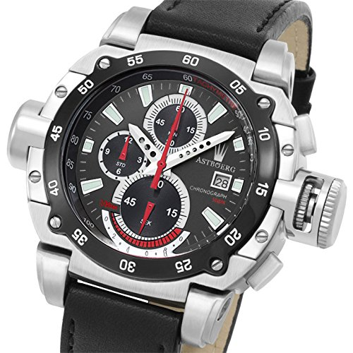 Astboerg Watch Germany Chronograph Kingsize II Megalock AT3061SS