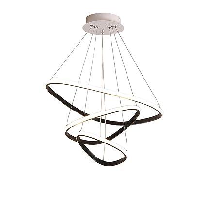 Amazon.com: Lámpara de techo moderna LED para comedor ...
