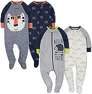 Gerber Clothing Baby-Boys 4-Pack Sleep 'N
