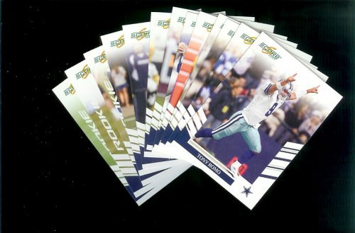 2007 Score Dallas Cowboys Team Set of 13 cards - Includes Tony Romo, Terrell Owens, Julius Jones and more -Shipped In Protective Storage Box!