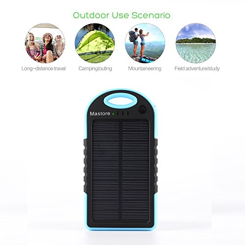 mastore-solar-charger-5000mah-solar-power-bank-dual-usb-port-portable-charger-solar-battery-charger-