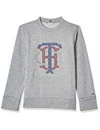 Tommy Hilfiger Kristal C-NK Sweatshirt LS Chaqueta para Mujer
