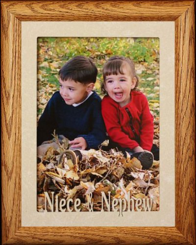5x7 Jumbo Niece Nephew Portrait Picture Frame For A Favorite