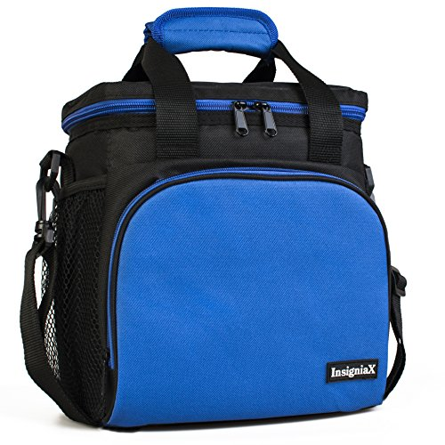 - Insulated Lunch Bag S1: InsigniaX Cool Back to School Lunch Box/Cooler/Lunchbox for Adult Women Men Work School Girls Boys With Strap Bottle Holder H: 10