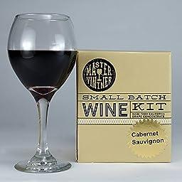Master Vintner Small Batch 1 Gallon Cabernet Sauvignon Wine Recipe Kit