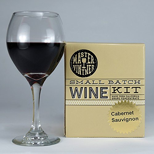 Cabernet Sauvignon Red Wine Kit - Master Vintner Small Batch 1 Gallon Wine Making Recipe (Cabernet Sauvignon Chocolate Wine)