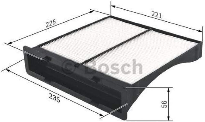 Bosch Innenraumfilter Pollenfilter