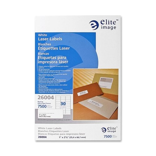 Elite Image Laser Labels (Elite Image Mailing Laser Label (26004))