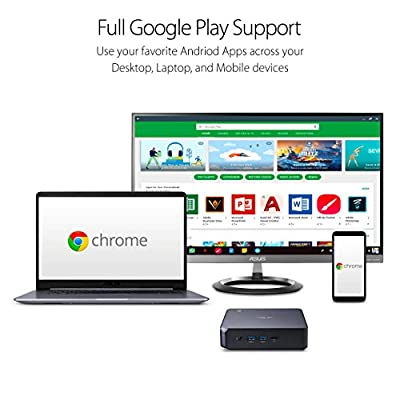 ASUS CHROMEBOX 3 Mini PC with Intel Core, 4K UHD Graphics and Power Over Type C Port