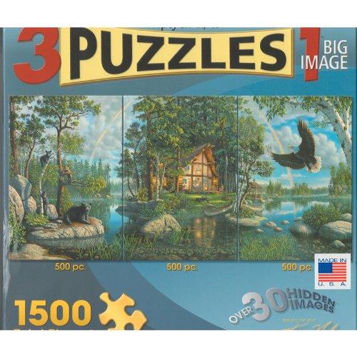 Kim Norlien The Promise Trilogy Triptych Jigsaw Puzzle - 1500 Total Pieces