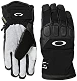 Oakley Men's Snowmad Short Gloves, Black, Small