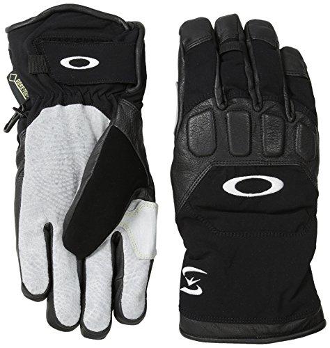 Oakley Men's Snowmad Short Gloves, Black, Small by Oakley
