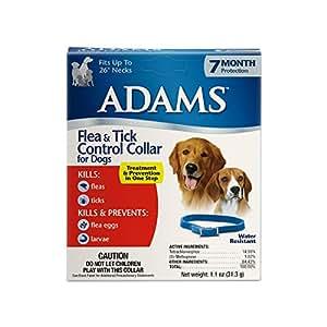 Amazon Com Adams Flea And Tick Collar For Dogs Pet