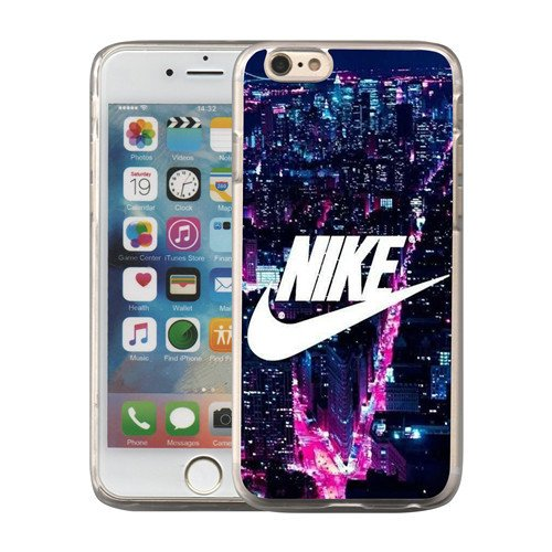 Just Do it Nike logo image Custom iPhone 6 6S 5.5 Plus PC Individualized Hard Case PC transparent style - Paypal Us Contact Canada