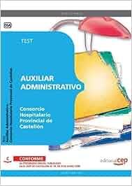 Auxiliar administrativo del consorcio hospitalario provincial de castellón. test Sin Datos
