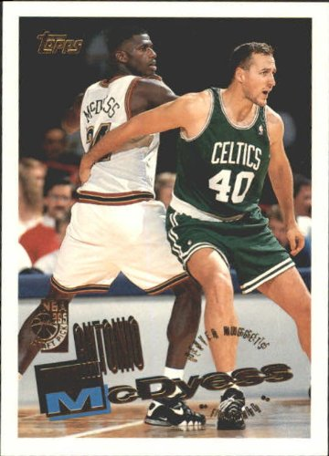 1995 Topps Basketball Rookie Card (1995-96) #268 Antonio McDyess