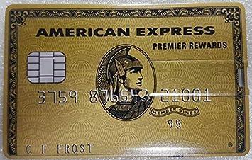 J & J Pen Drive Credit Card Memoria USB Tarjeta de crédito 8GB 16GB 32GB 64GB Pluma Memory USB Dorado AMEX Oro 8GB
