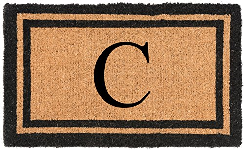 "Nance Industries YourOwn Monogrammed Welcome Mat (Insert Letter Variation), 22"" x 36"""