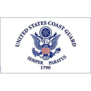 Coast Guard Flag (3'x 5' Polyester) - Show Your American Pride!