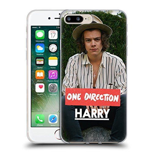 Official One Direction Long Sleeves Harry Styles Photo Soft Gel Case for Apple iPhone 7 Plus / 8 Plus