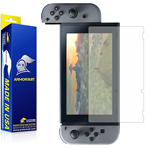 - ArmorSuit Nintendo Switch Anti-Glare Screen Protector Max Coverage MilitaryShield Screen Protector for Nintendo Switch - Matte