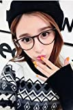 Generic Charmant new literary personality round retro plain mirror man boy and women girls lady models Beautiful with eyeglasses frame glasses can