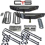Chassis Tech 99-04 Ford F250 3.5'' Front 3'' Rear Leveling liftkit F250 Square Dana AXLE UBOLTS